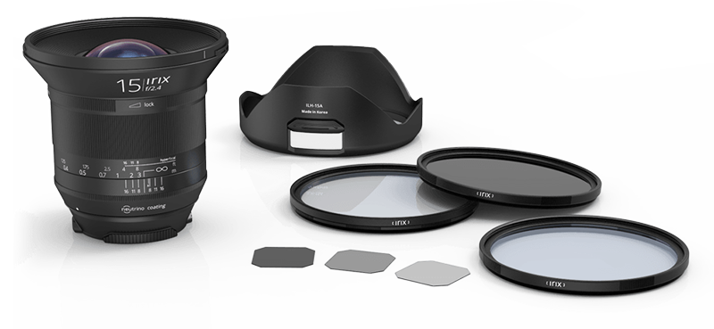 IRIX ultra-wide angle lenses: intuitive, accurate and reliable
