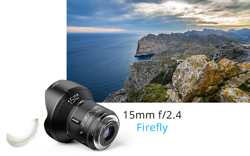 IRIX ultra-wide angle 15mm lens
